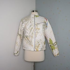 Obermeyer | White Quilted Jacket